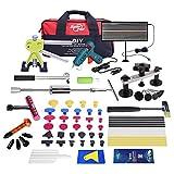 Fly5D Dellen Reparatur Ausbeulwerkzeug Set, Auto Beulen Reparatur Profi vollständiger Satz für Auto Hagel Schäden und Tür Dings Mit Klebestift und Klebepistole